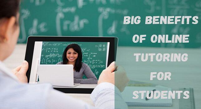 8 Big Benefits Of Online Tutoring For Students